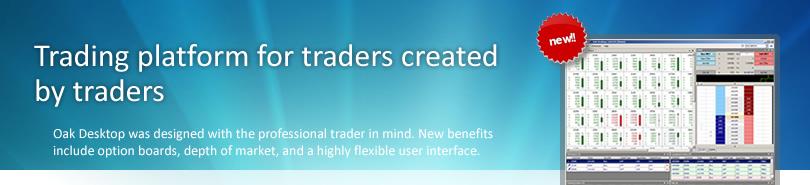 Oak Desktop Trading Platform