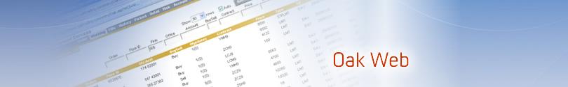 OakWeb Web based futures trading platform